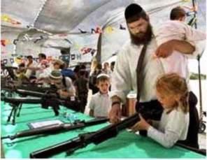 Zionistas promocionando la paz