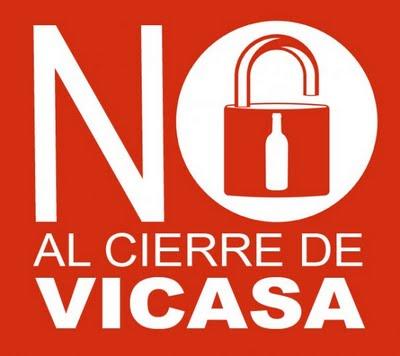 NO AL CIERRE DE VICASA
