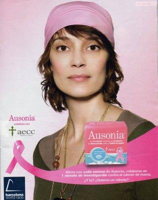 Resultado de imagen de ausonia cancer de mama
