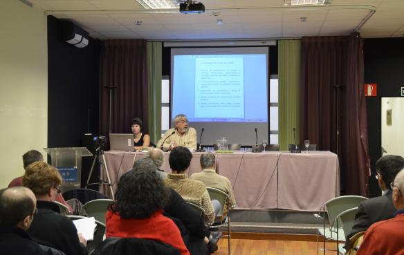 Reunión en el Ateneo de Madrid (14-12-2014)